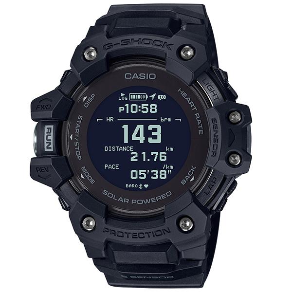 G-SHOCK ジーショック CASIO カシオ G-SQUAD 心拍 GPS スマートフォンリンク 腕時計 メンズ GBD-H1000-1JR
