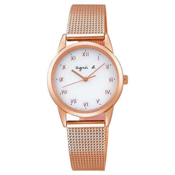 agnesb. アニエスベー Marcello マルチェロ FBSD939 ソーラー 腕時計 レディース