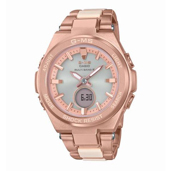 BABY-G ベイビージー CASIO カシオ G-MS ジーミズ 電波ソーラー 腕時計 MSG-W200CG-4AJF 【送料無料】