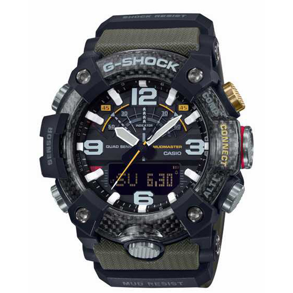 G-SHOCK カシオ Gショック MUDMASTER マッドマスター 腕時計 メンズ MASTER OF G GG-B100-1A3JF