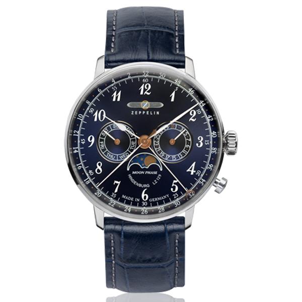 ZEPPELIN ツェッペリン Hindenburg ヒンデンブルグ ドイツ製 【国内正規品】 腕時計 70363 【送料無料】