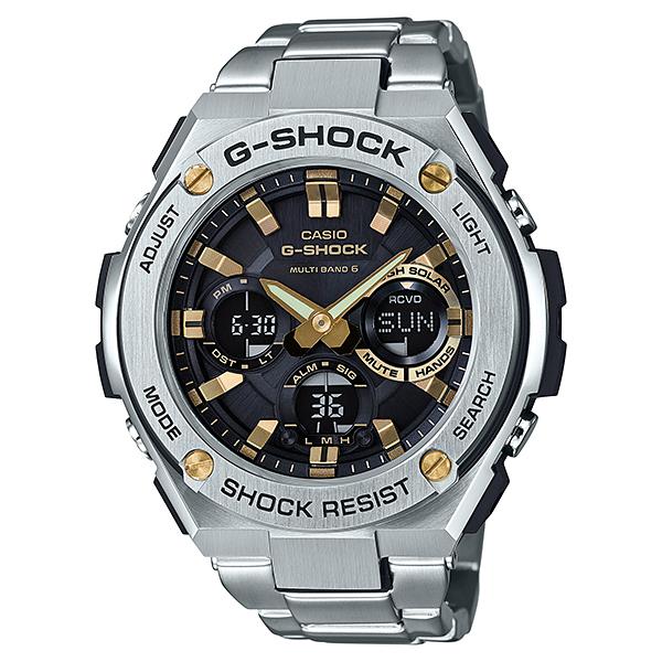 G-SHOCK ジーショック G-STEEL ジースチール 電波ソーラー 腕時計 メンズ GST-W110D-1A9JF 【送料無料】