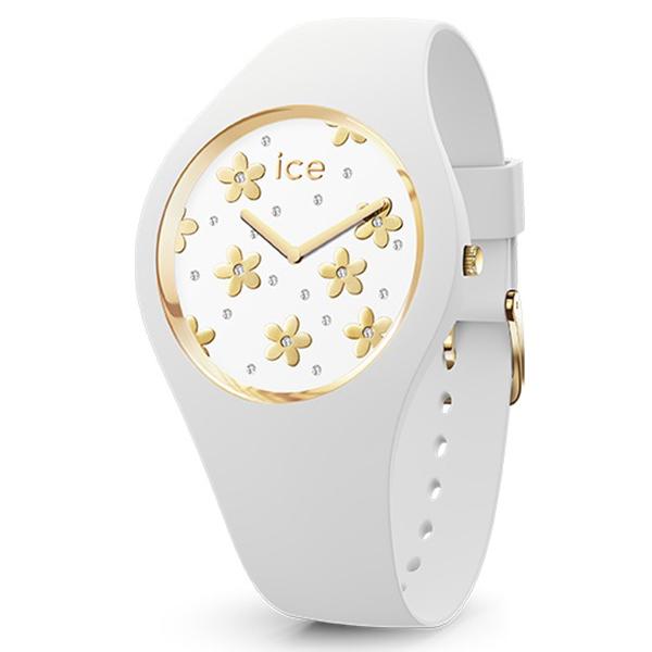 ICE WATCH アイスウォッチ ICE flower アイスフラワー プレシャスホワイト ミディアム 腕時計 ICE-016667 【送料無料】