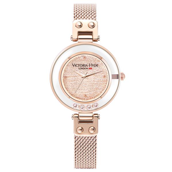 VICTORIA HYDE LONDON ヴィクトリアハイドロンドン SPARKLE STAR VH30097 ローズゴールド 腕時計 レディス