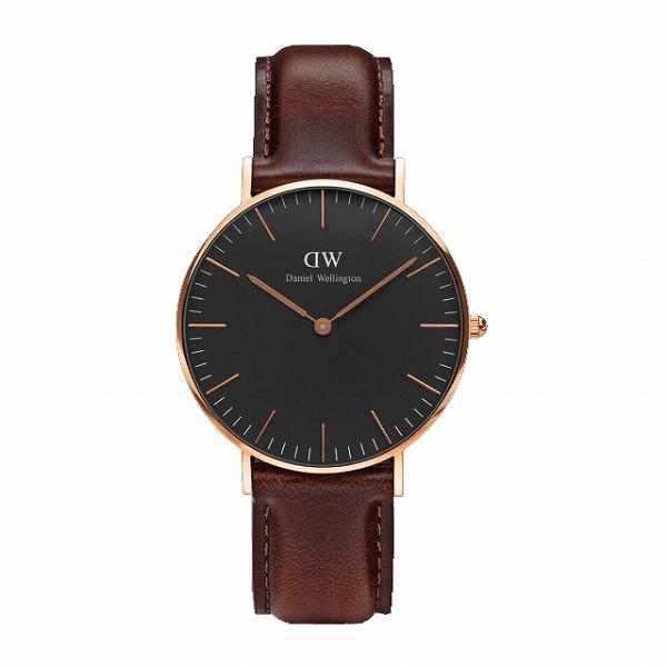 Daniel Wellington ダニエルウェリントン CLASSIC BLACK Bristol 36mm 【国内正規品】 腕時計 DW00100137 【送料無料】