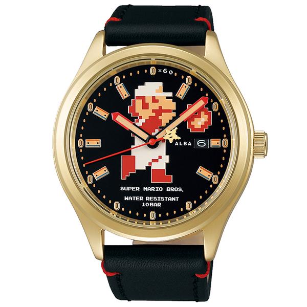 SEIKO ALBA セイコー アルバ キャラクター スーパーマリオブラザーズ メカニカル 流通限定 腕時計 メンズ ACCA701