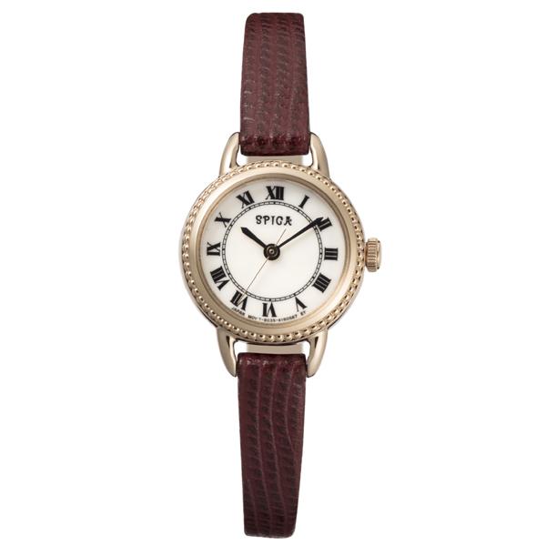 SPICA スピカ ROUND SOLAR ラウンドソーラー TiCTAC オリジナル 腕時計 レディース SPI47-RG/WR