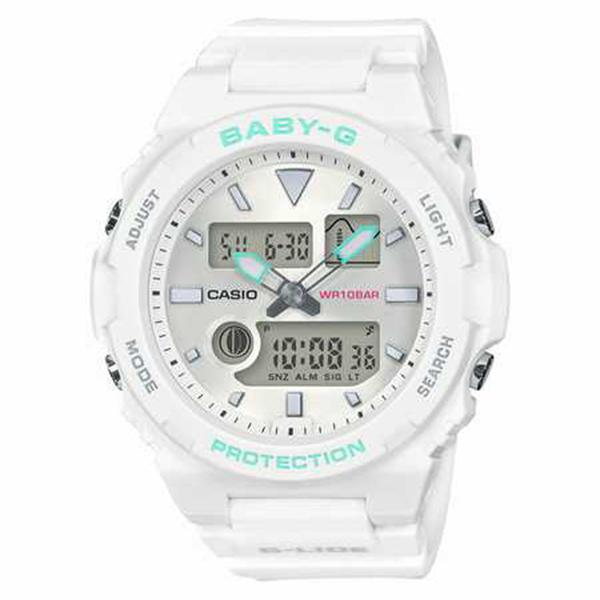 BABY-G ベイビージー CASIO カシオ 90sサーフカルチャー 腕時計 レディース BAX-100-7AJF 【送料無料】