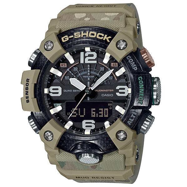 G-SHOCK ジーショック CASIO カシオ マッドマスター BRITISH ARMYコラボレーション Bluetoothスマートフォンリンク 腕時計 メンズ GG-B100BA-1AJR