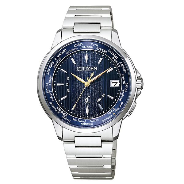 CITIZEN xC クロスシー エコドライブ 電波 ハッピーフライト ペア限定モデル 腕時計 CB1020-54M