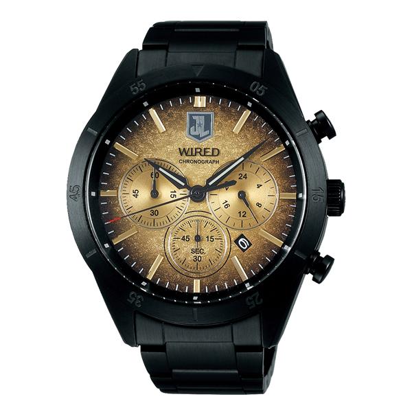 WIRED ワイアード SEIKO セイコー × JUSTICE LEAGUE  コラボ限定モデル 【国内正規品】 腕時計  AGAT717 【送料無料】