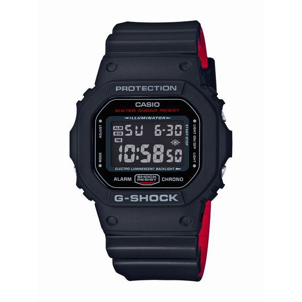 G-SHOCK ジーショック CASIO カシオ Black & Red Series 【国内正規品】 腕時計 メンズ DW-5600HR-1JF 【送料無料】