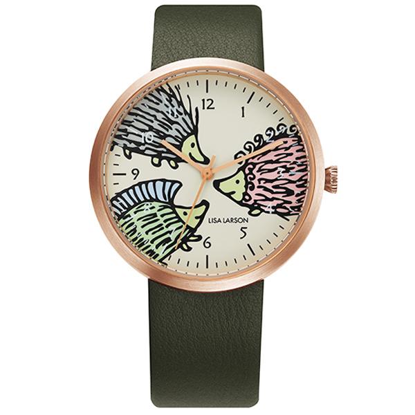 """LISA LARSON リサラーソン """"HEDGEHOG"""" 限定モデル 【国内正規品】 腕時計 LL401 【送料無料】"""