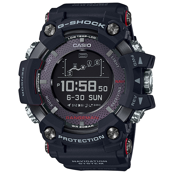 G-SHOCK ジーショック RANGEMAN GPSナビゲーション  腕時計 メンズ GPR-B1000-1JR 【送料無料】