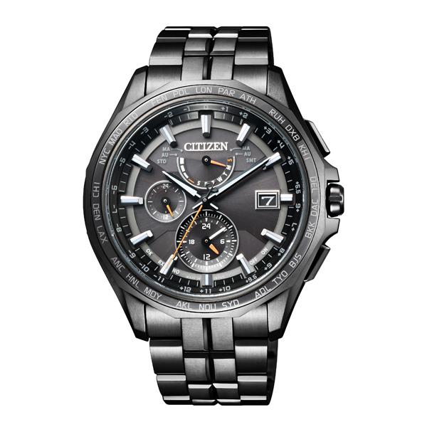 CITIZEN シチズン ATTESA アテッサ エコ・ドライブ ダイレクトフライト Black Titanium  【国内正規品】 腕時計 メンズ AT9097-54E 【送料無料】