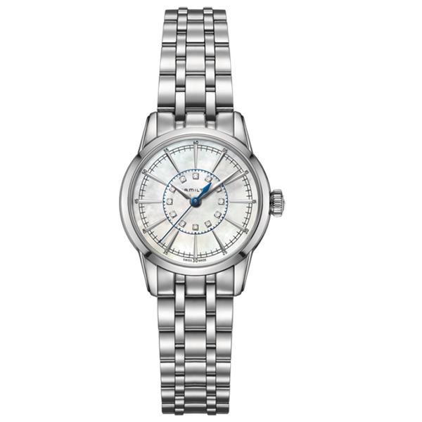 HAMILTON ハミルトン アメリカン クラシック RAILROAD LADY QUARTZ 腕時計【国内正規品】 H40311191 【送料無料】