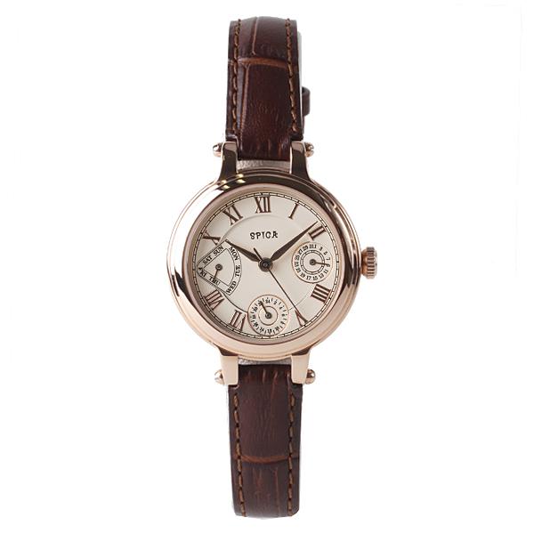 SPICA スピカ CLASSIC MULTI FUNCTION クラシック マルチファンクション TiCTAC オリジナル 腕時計 レディース SPI26-PG/DBRL 【送料無料】