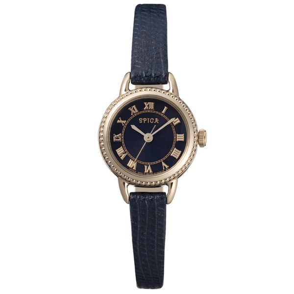SPICA スピカ ROUND SOLAR ラウンドソーラー TiCTAC オリジナル 腕時計 レディース SPI47-RG/NV