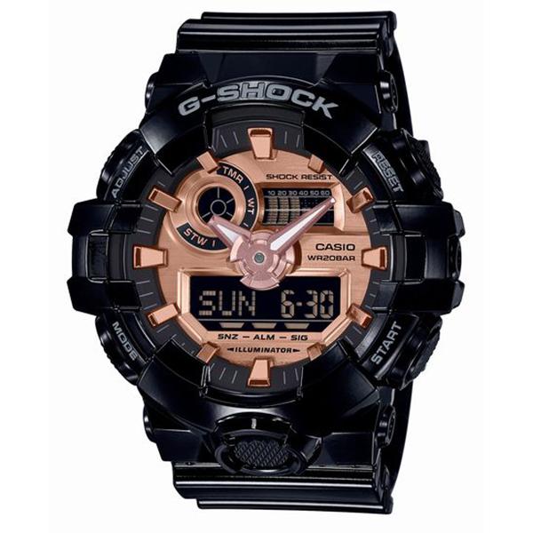 G-SHOCK ジーショック CASIO カシオ ブラック×ローズゴールド 腕時計 GA-700MMC-1AJF 【送料無料】