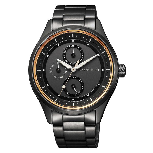 INDEPENDENT インディペンデント Timeless Line ソーラー 【国内正規品】 腕時計 メンズ KB1-244-51 【送料無料】