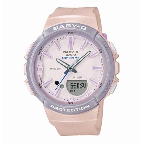 BABY-G ベイビージー FOR RUNNING 国内正規品 腕時計 レディース BGS-100SC-4AJF 【送料無料】