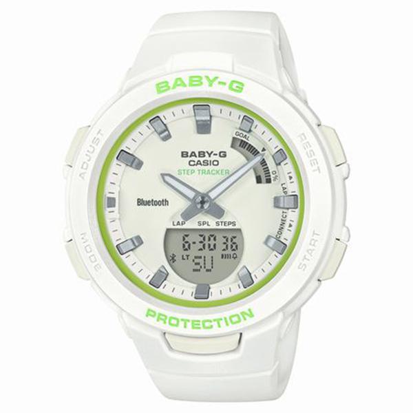 BABY-G ベイビージー CASIO カシオ G-SQUAD ジー・スクワッド スマートフォンリンク 腕時計 BSA-B100SC-7AJF 【送料無料】