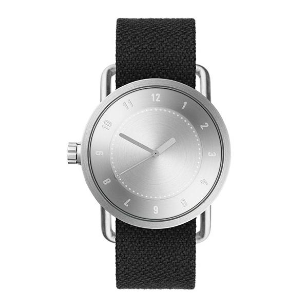 TID Watches ティッド ウォッチ No.1 トウェインベルト シルバー 40mm 【国内正規品】 腕時計 TID01-TW SV/COAL 【送料無料】