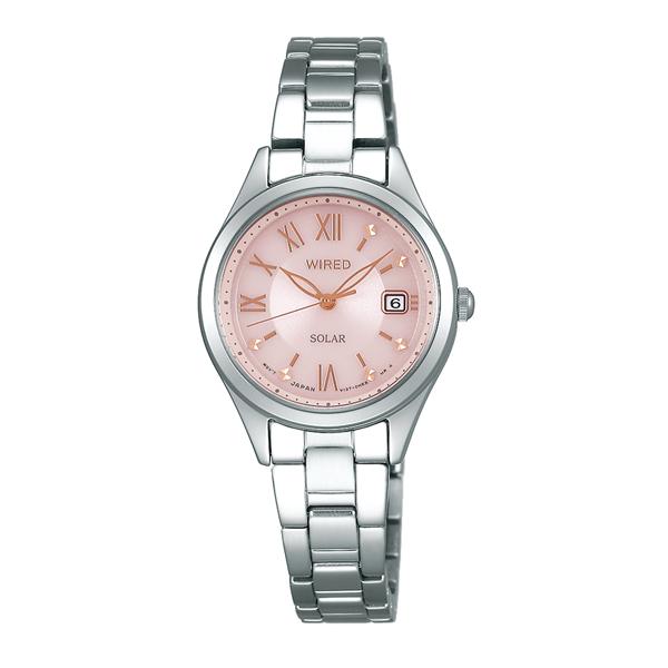 WIRED f ワイアード エフ SEIKO セイコー PAIR STYLE ペア・スタイル ソーラー 腕時計 レディース AGED105 【送料無料】