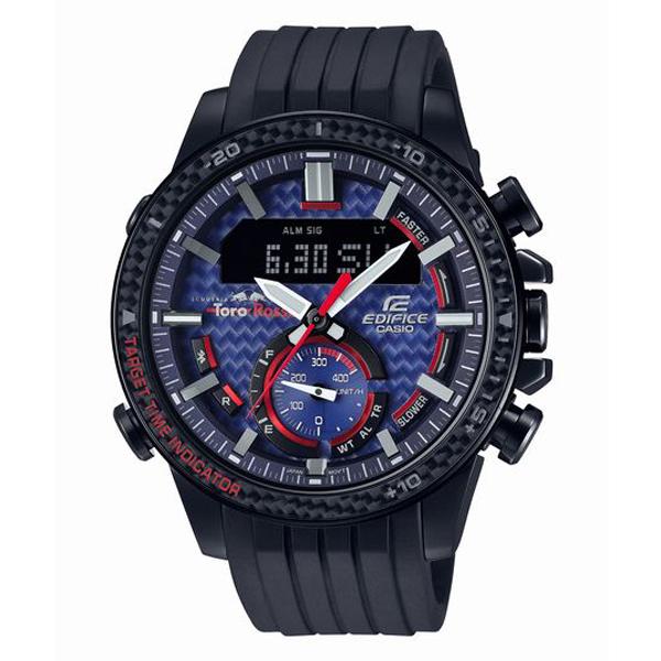 EDIFICE エディフィス CASIO カシオ Toro Rosso トロ・ロッソ 限定モデル 腕時計 ECB-800TR-2AJR 【送料無料】