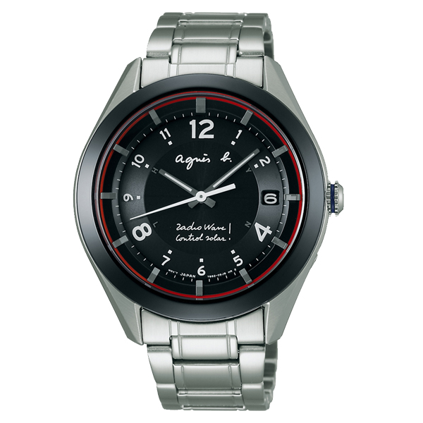 05246b5608 アニエス FBRD975 Marcello agnes b. HOMME 腕時計 メンズ 【代引き手数料無料】 マルチェロ ソーラー 【送料無料】