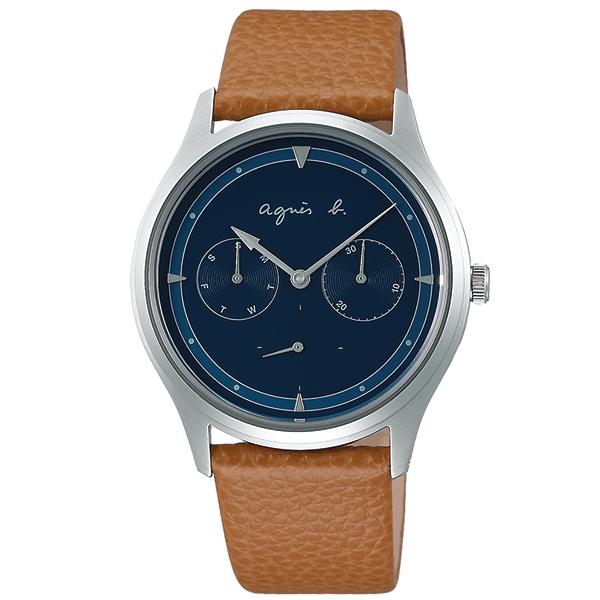 agnesb. アニエスベー サファリ 交換ベルト付属 腕時計 メンズ FCRT958