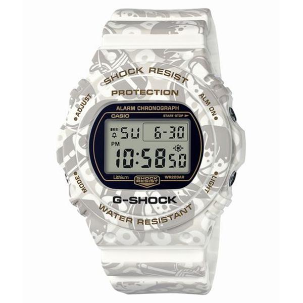 G-SHOCK ジーショック 七福神 SHICHI-FUKU-JIN 寿老人モデル 腕時計 DW-5700SLG-7JR 【送料無料】