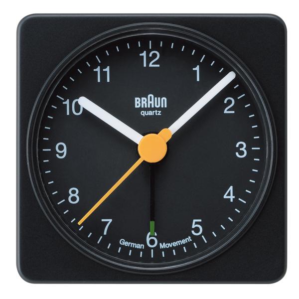 BRAUN ブラウン Alarm clock アラームクロック ブラック 【国内正規品】 BNC002BKBK 【送料無料】