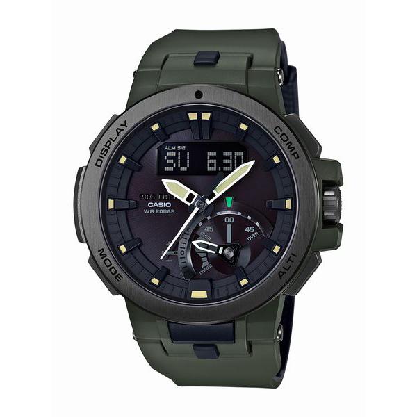 PRO TREK プロトレック CASIO カシオ Earth Color 【国内正規品】 腕時計 メンズ PRW-7000-3JF 【送料無料】