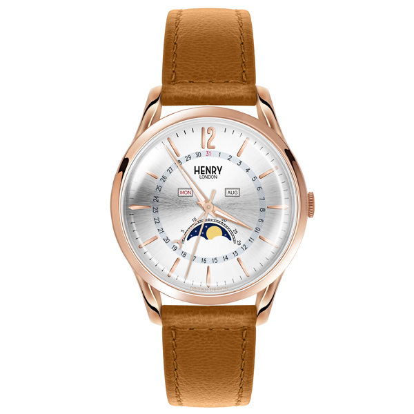 HENRY LONDON ヘンリー ロンドン MARYLEBONE メリルボーン JAPAN Limited 日本限定 メンズ 【国内正規品】 腕時計 HL39-LS-0384 【送料無料】