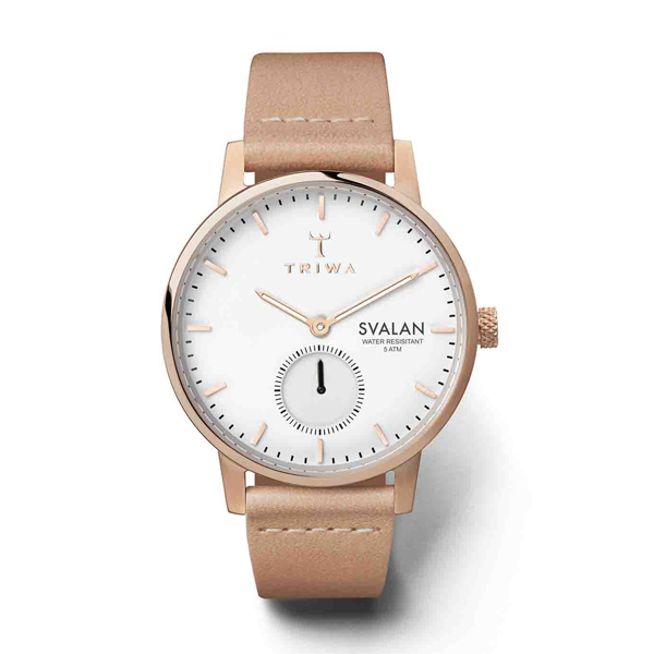 TRIWA トリワ ROSE SVALAN スヴァラン TAN CLASSIC SUPER SLIM 【国内正規品】 腕時計 SVST104-SS010614 【送料無料】