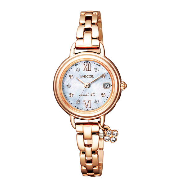 CITIZEN シチズン wicca ウィッカ × canal4℃ コラボレーション 700本限定モデル  国内正規品 腕時計 レディース KL0-561-13