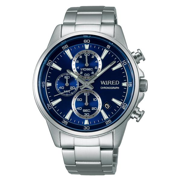 WIRED ワイアード SEIKO セイコ クロノグラフ 腕時計 メンズ AGAT423 【送料無料】