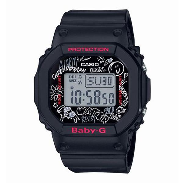BABY-G ベイビージー CASIO カシオ Graffiti Face グラフィティ・フェイス 腕時計 BGD-560SK-1JF 【送料無料】