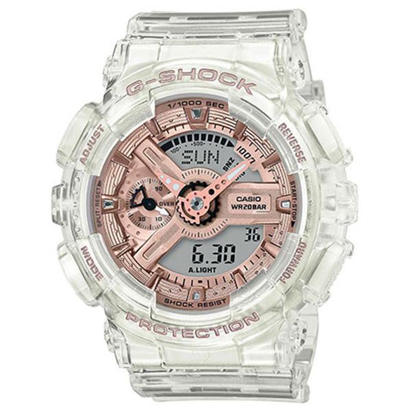 G-SHOCK カシオ Gショック ミッドサイズ スケルトン 腕時計 GMA-S110SR-7AJF