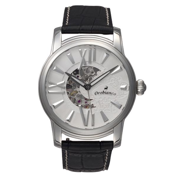 Orobianco オロビアンコ ORAKLASSICA オラクラシカ 腕時計 メンズ ホワイト OR-0011-3【送料無料】