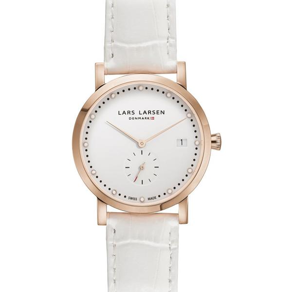 LARS LARSEN ラースラーセン LW37 【国内正規品】 腕時計 レディース 137RWWL 【送料無料】