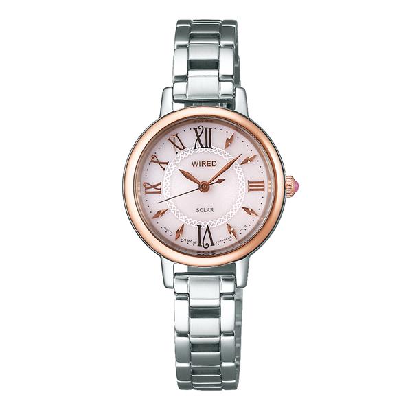 WIRED f ワイアード エフ SEIKO セイコー ソーラー 国内正規品 腕時計 レディース AGED097 【送料無料】
