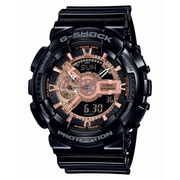 G-SHOCK ジーショック CASIO カシオ ブラック×ローズゴールド 腕時計 GA-110MMC-1AJF 【送料無料】
