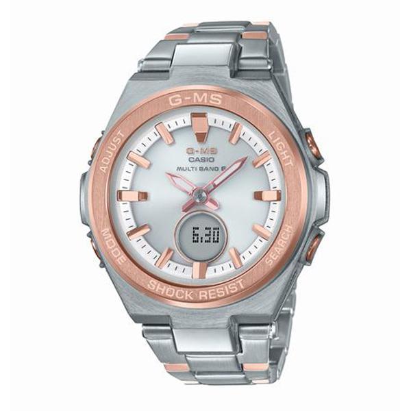 BABY-G ベイビージー G-MS ジーミズ 電波ソーラー 腕時計 MSG-W200SG-4AJF 【送料無料】