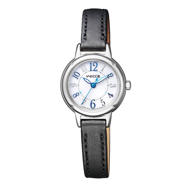 wicca ウィッカ CITIZEN シチズン ソーラーテック スタンダードモデル 腕時計 KP3-619-12 【送料無料】