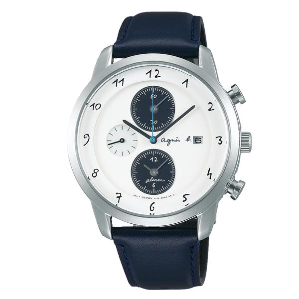 agnes b. アニエスベー Marcello マルチェロ ソーラー TiCTAC別注 ペア 【国内正規品】 腕時計 メンズ FBRD709 【送料無料】