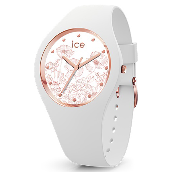 ICE WATCH アイスウォッチ ICE flower アイスフラワー スプリングホワイト ミディアム 腕時計 ICE-016669 【送料無料】