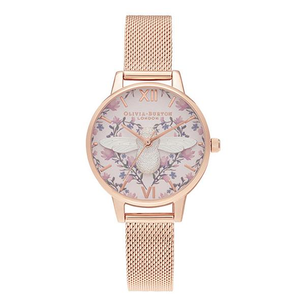 OLIVIA BURTON オリビアバートン ミント トゥ ビー 3D ビー 腕時計 レディース OB16AM166 【送料無料】