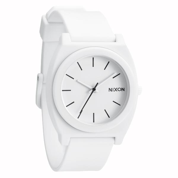 NIXON ニクソン Time Teller P タイム テラー Matte White 腕時計 【国内正規品】 ホワイト レディース NA1191030 【送料無料】